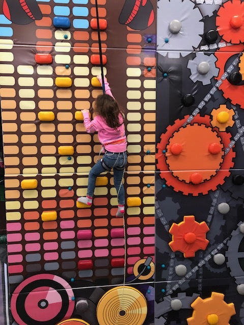 Climbing Wall for Ages 5 and Up