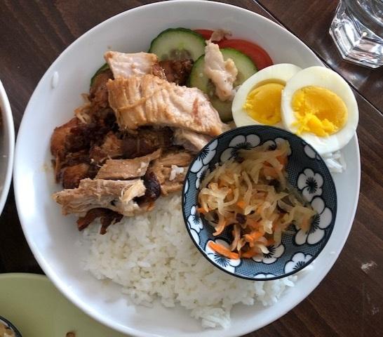 Adobo Pork Rice Bowl