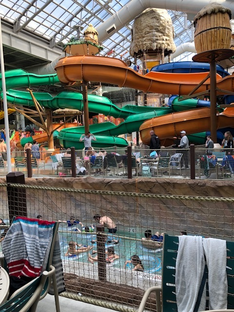 The Lazy River Takes You Through the Park