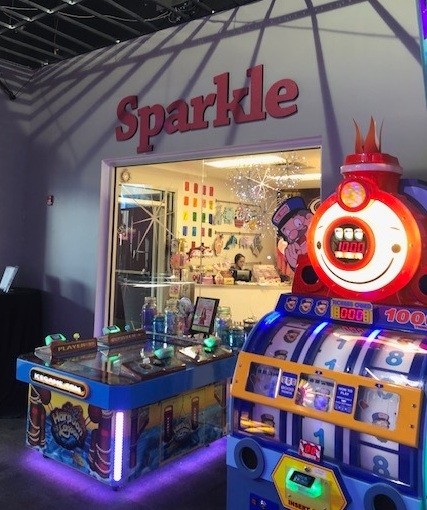 Sparklicious is Located Inside Grand Prix Racetrack and Arcade