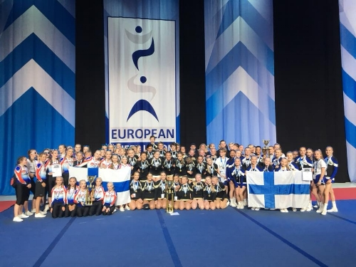 Europamestere 2018 - NRC Tigers Junior Coed Elite
