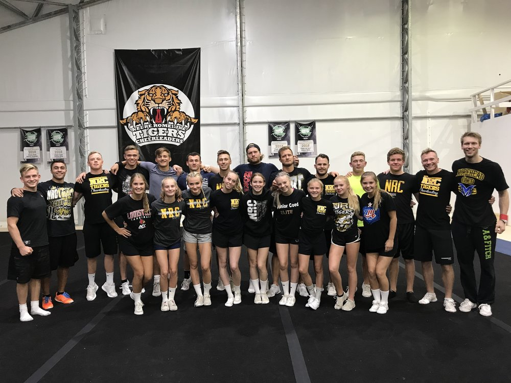 NRC Tigers Senior Coed Elite sesongen 2018-2019