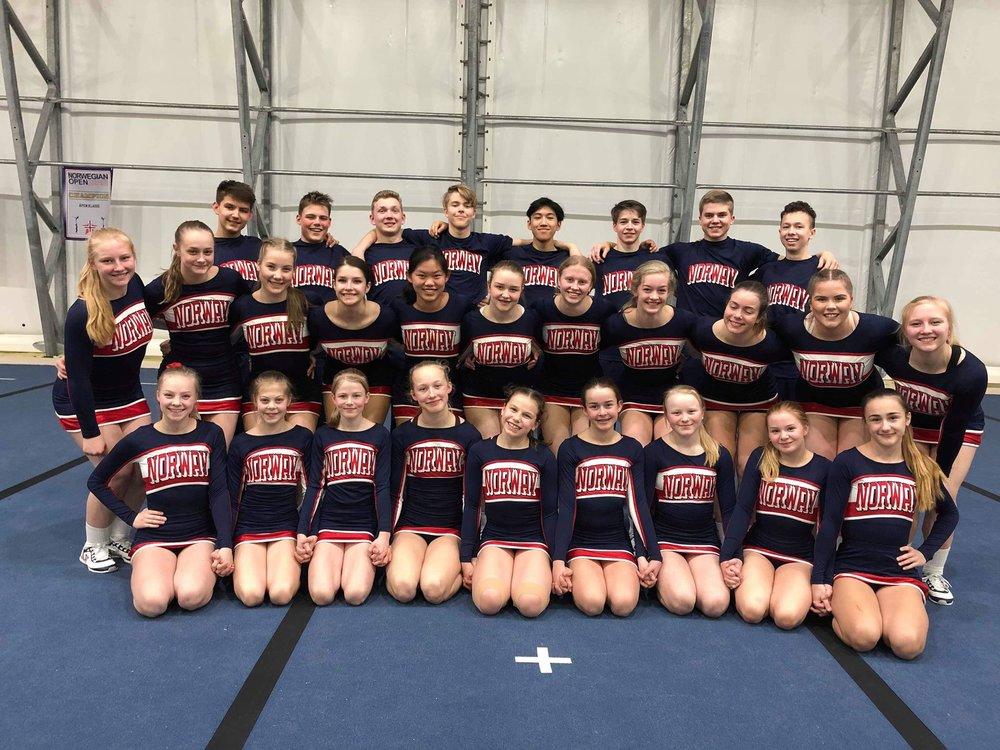 Team Norway Junior Coed - vi er så stolte av dere!