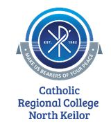 CATHOLIC REGIONAL COLLEGE NTH KEILOR - BROADCAST TIMESTUESDAY OCTOBER 30 TIME: 1.00 PMTHURSDAY NOVEMBER 1 TIME: 7.30 PMSUNDAY NOVEMBER 4 TIME: 11.00 AM