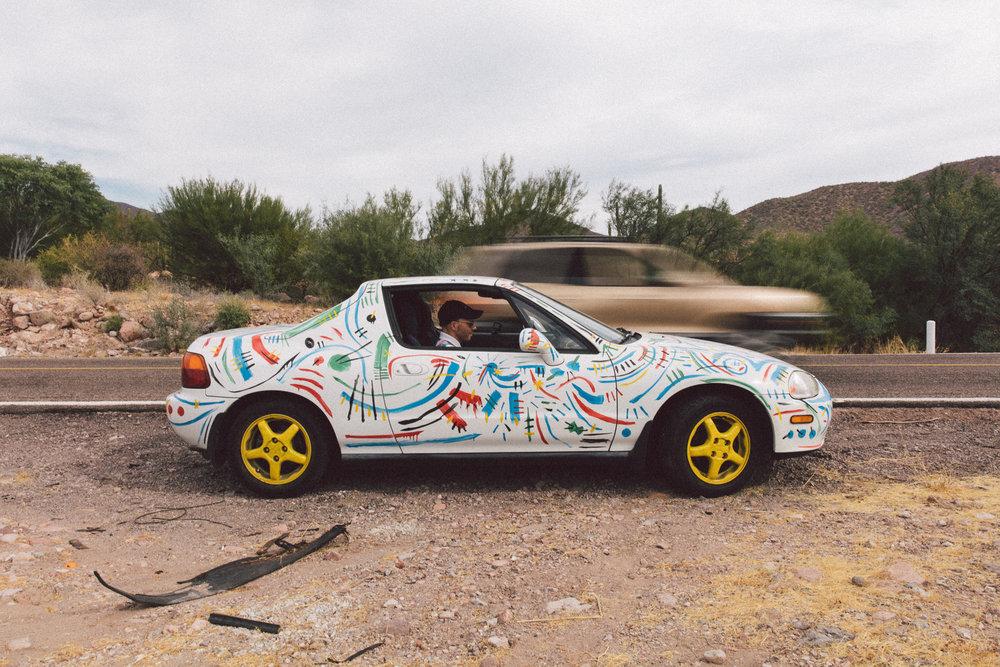 Painted Honda Del Sol