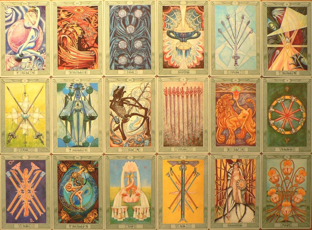 The metaphor of laying your cards on the table in life couldn't be more resonant with reading the Tarot