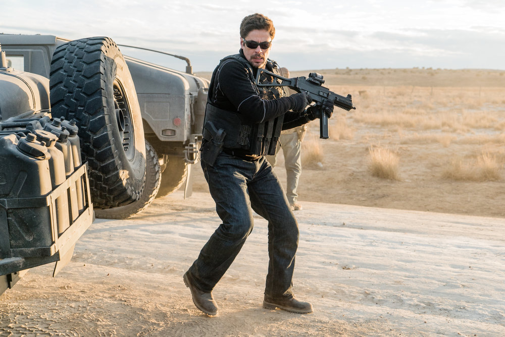 "Benicio Del Toro plays Alejandro, a hitman working with the CIA, in ""Sicario: Day of the Soldado."" (Photo courtesy Columbia Pictures)"