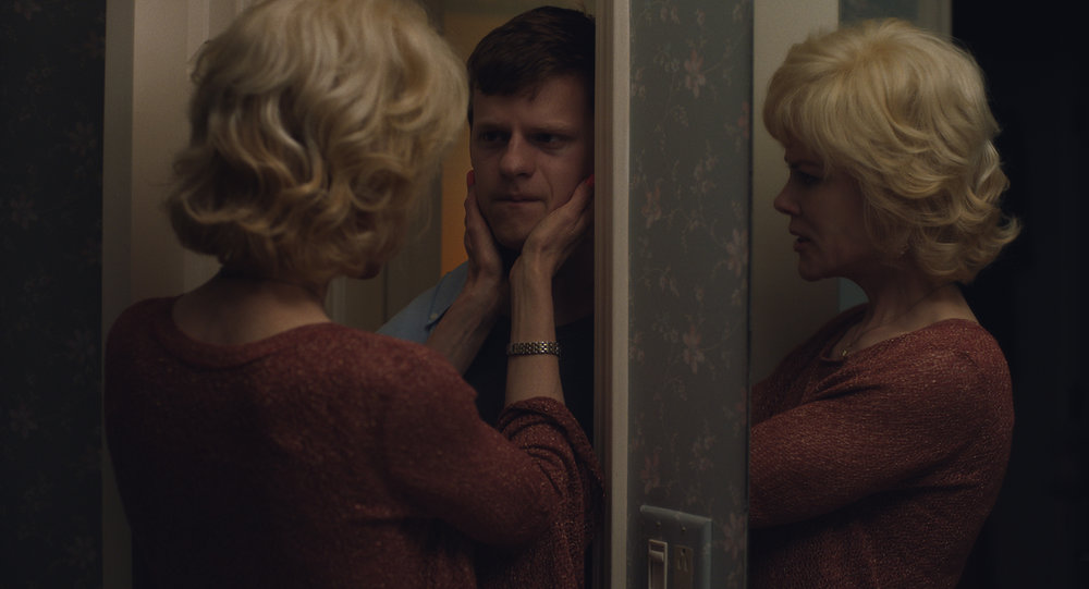 """Nancy Eamons (Nicole Kidman) talks to her troubled son, Jared (Lucas Hedges), in a scene from the drama """"Boy Erased."""" (Photo courtesy Focus Features)"""