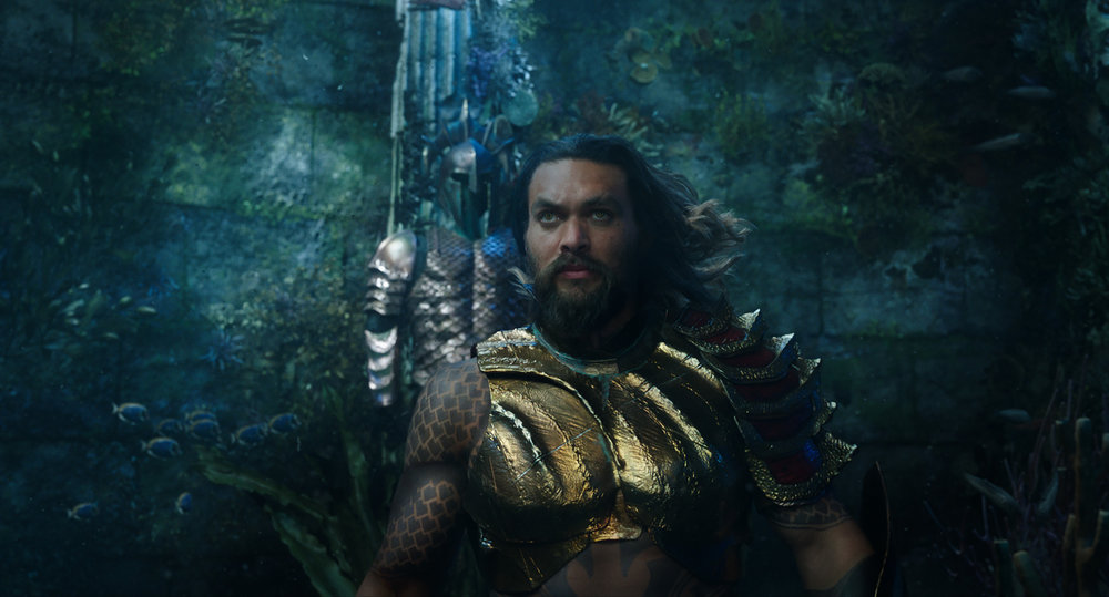 "Jason Momoa stars as Arthur Curry, the half-human, half-Atlantean who becomes a hero in DC Comics' ""Aquaman."" (Photo courtesy Warner Bros. Pictures)"