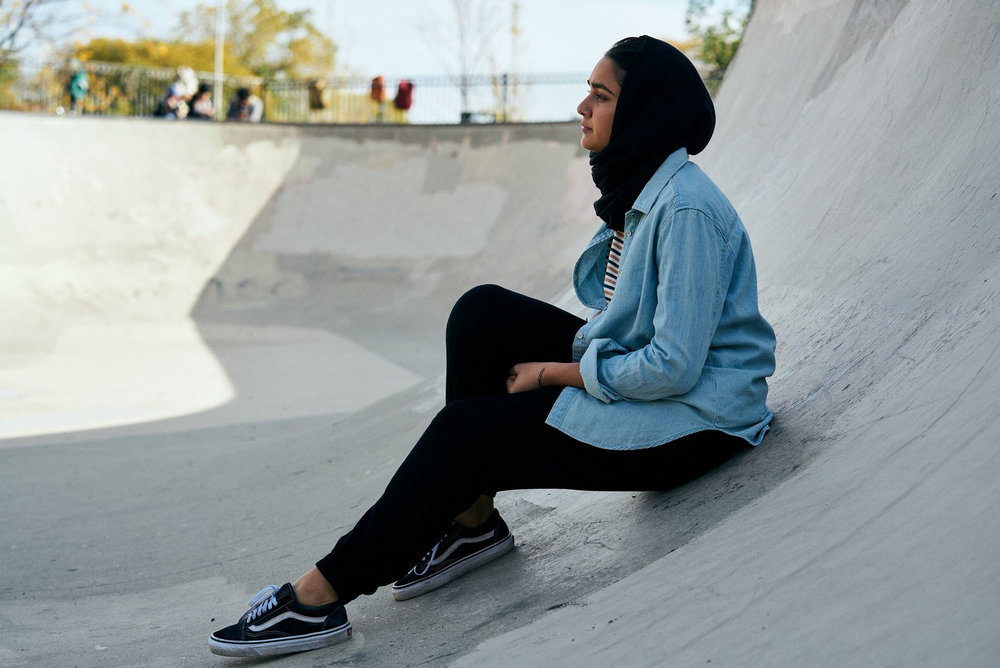 "Geraldine Viswanathan stars as a Muslim teenager figuring out her life in Minhal Baig's ""Hala,"" an official selection in the U.S. Dramatic Competition of the 2019 Sundance Film Festival. (Photo by Parrish Lewis, courtesy Sundance Institute)"