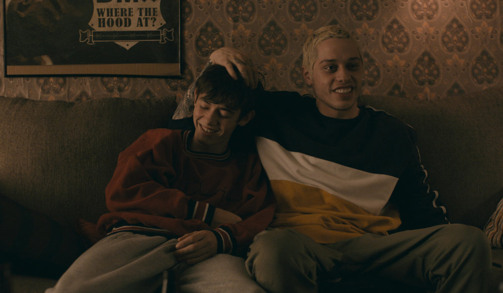 """Mo (Griffin Gluck, left), 16, and his 23-year-old best friend (Pete Davidson) are at the center of """"Big Time Adolescence,"""" by Jason Orley, an official selection in the U.S. Dramatic Competition of the 2019 Sundance Film Festival. (Photo courtesy Sundance Institute)"""