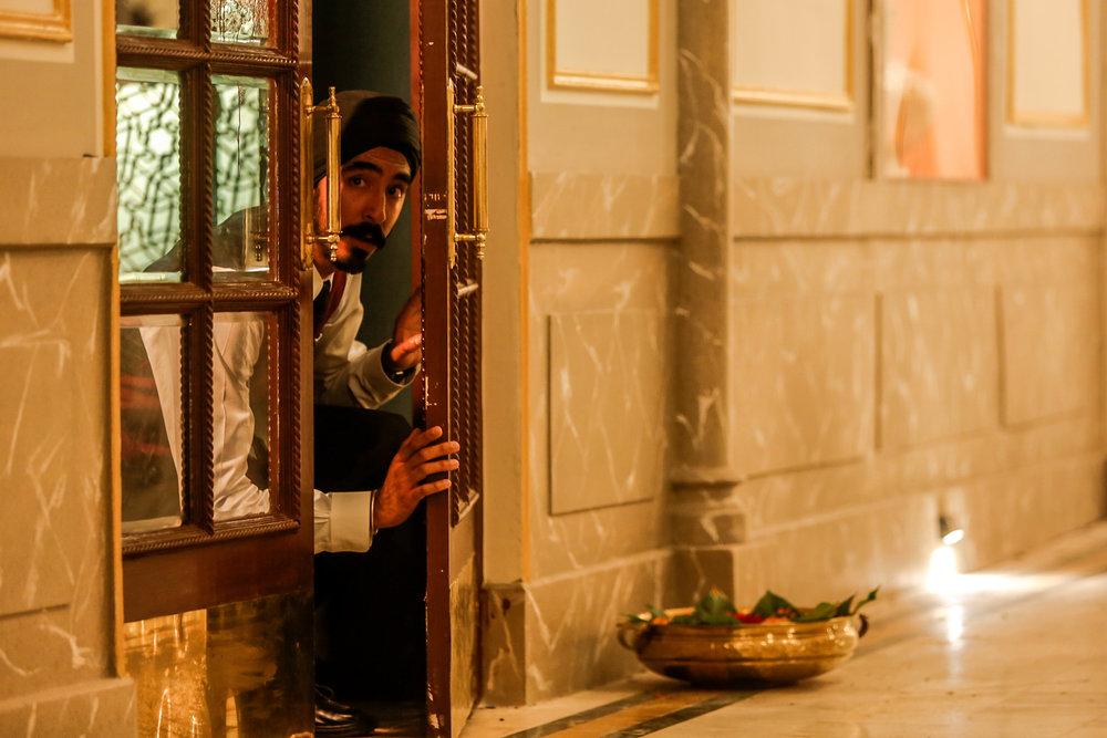"Dev Patel plays Arjun, a Sikh working in Mumbai's Taj Mahal Palace Hotel during the 2008 terrorist attacks, in the thriller ""Hotel Mumbai."" (Photo by Kerry Monteen, courtesy Bleecker Street Films)"