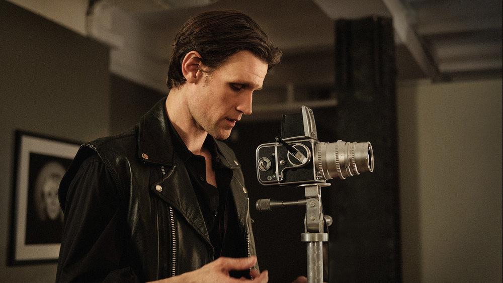 "Matt Smith portrays photographer Robert Mapplethorpe in the biographical drama ""Mapplethorpe."" (Photo courtesy Samuel Goldwyn Pictures)"