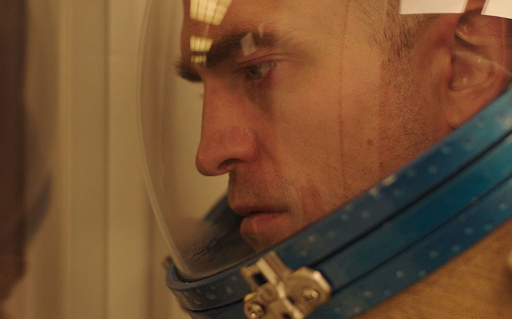 """Monte (Robert Pattinson), a prison inmate who gets a second chance as a space traveler, is at the center of Claire Denis' drama """"High Life."""" (Photo courtesy A24 Films.)"""