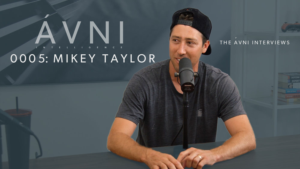 0005: MIKEY TAYLOR  Co-host Mikey Taylor is interviewed on his own show about moving on from pro skateboarding and starting AVNI and Commune Capital.