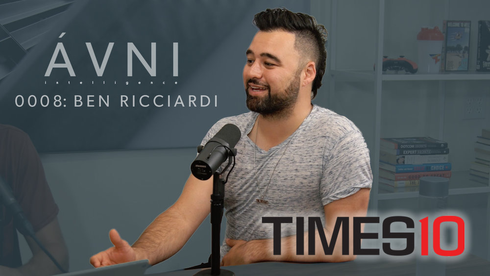 "0008: BEN ""TIMES 10"" RICCIARDI  Ben is the Founder of Times 10, a full service agency that does amazing work for clients like Adidas."