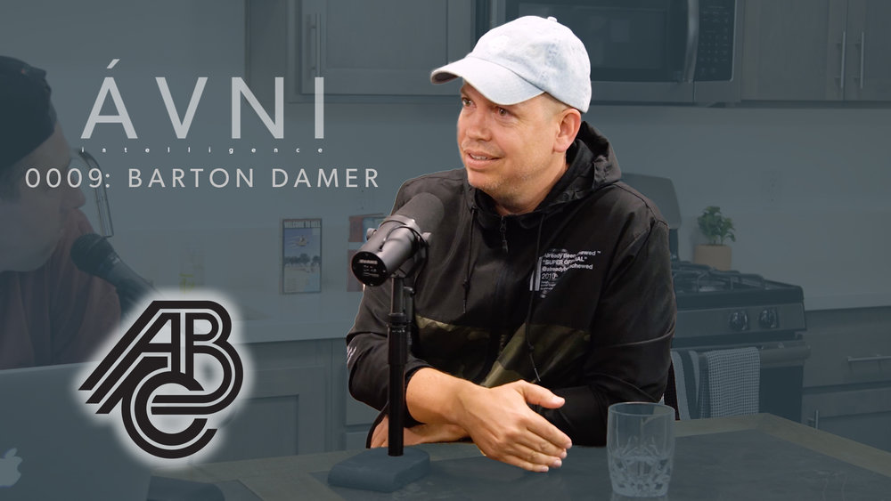 0009: barton damer  Barton Damer is the founder of Already Been Chewed, a 3D Motion Graphics company who has done work for clients like G-Shock, Street League, & Tiffany & Co. Starting as a one man show, Barton worked freelance until he was making 75% of his money working only a few hours a week. Going out on his own, Barton has grown to a 3d Motion agency with over 8 employees.