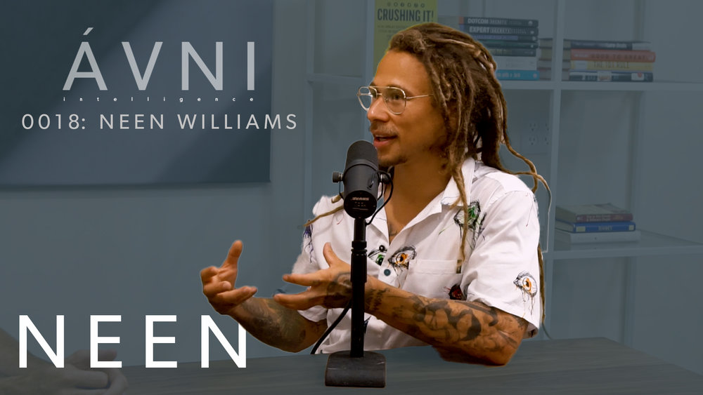 0018: NEEN WILLIAMS  This weeks guest is professional skateboarder Neen Williams. While overcoming a major knee injury, Neen grew a love for cooking and wellness, which in turned developed into deals with brands like Whole Foods and Vega.