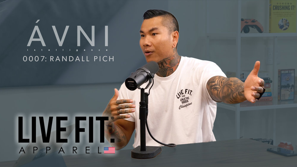 0007: RANDALL PICH  Randall is the Founder of LVFT apparel who started as a physical trainer and did 1 million in sales year 1 selling his slogan: Life Fit.