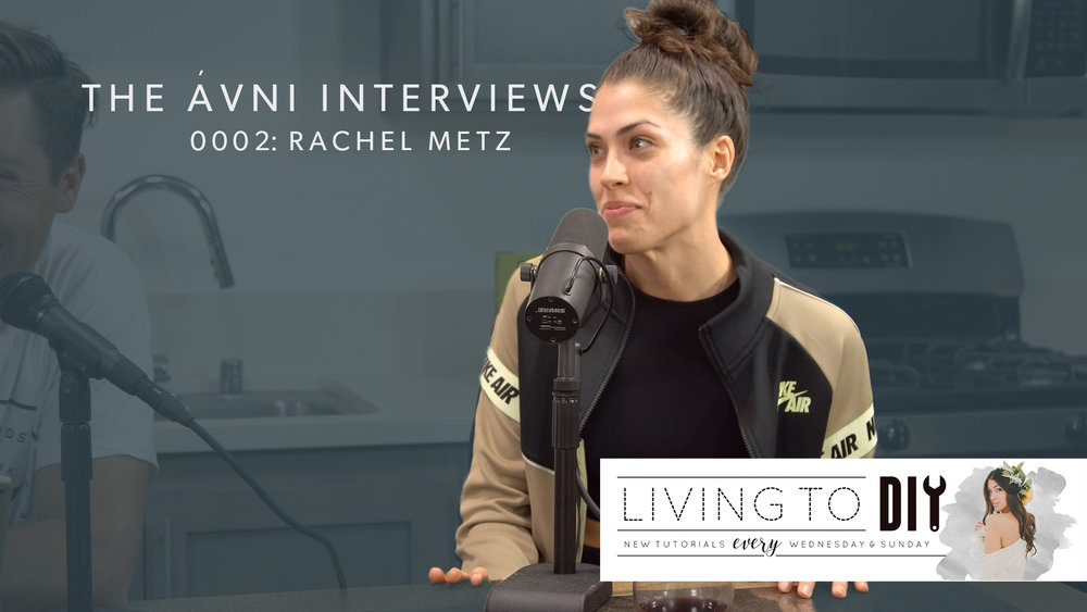 0002: RACHEL METZ  Her passion for power tools and Do It Yourself drove Rachel to pursue a career in social media using tools. She breaks down how she turned what she loved into a business doing DIY projects.
