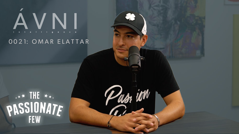 """0021: OMAR ELATTAR  Omar Elattar is the creator and host of """"The Passionate Few,"""" a show featuring iconic guests like Grant Cardone and Ed Mylett. Omar breaks down high net worth networking."""