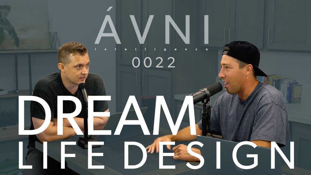0022: DESIGN YOUR DREAM LIFE  Design YOUR dream life. It's what you want, not the jets and the rented luxury cars. In this episode we go over how to design the life you want, not the life that everyone is telling you that you should design.