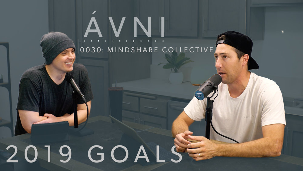 AVNI 0030:  Setting 2019 Goals  In this episode we go over The AVNI Mindshare Collective, an online Collective dedicated to setting and hitting goals in 2019.