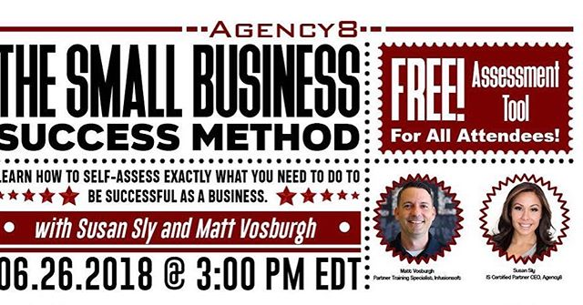 less Than 24 hours  Reserve your spot Now! Get your FREE Assessment Tool  Learn how to self - Asses exactly what you need to do to be successful as a business. With Susan Sly & Matt Vosburgh Click link below www.getmyassessmenttool.com #susansly #mattvosburgh #digitalmarketing #infusionsoft #ryandiess #theagency8