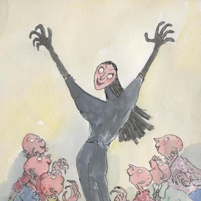 The Grand High Witch from Roald Dahl's 'The Witches' - i still get shivers when i remember reading about her! Truly wicked!