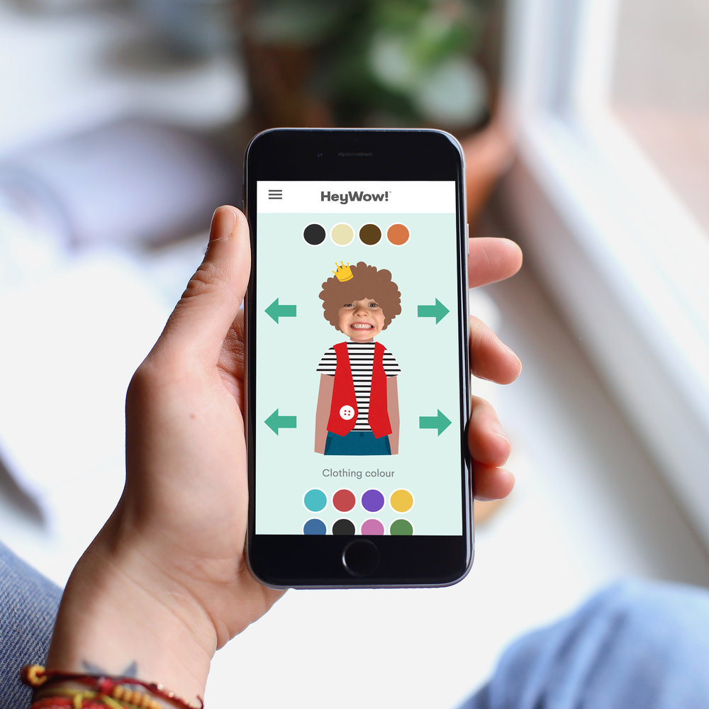 Heywow-personalised-books-kids-character-builder-mobile