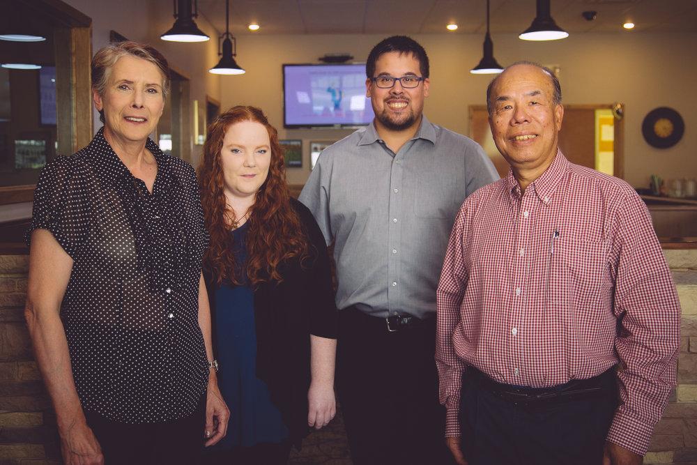 photo courtesy of enbridge 2017 pipeline promotional left to right: Allyson, Alexandria, Jonathan, & Pak Wong