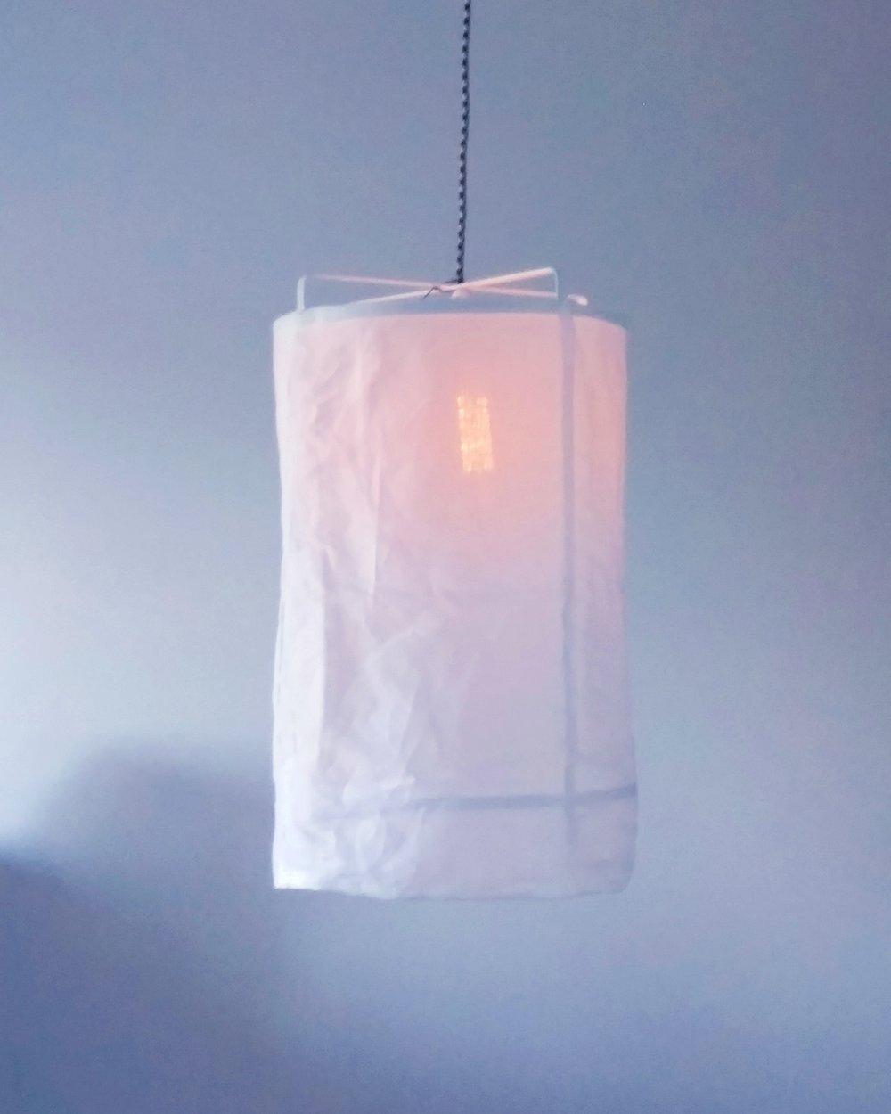 Linen Pendants -