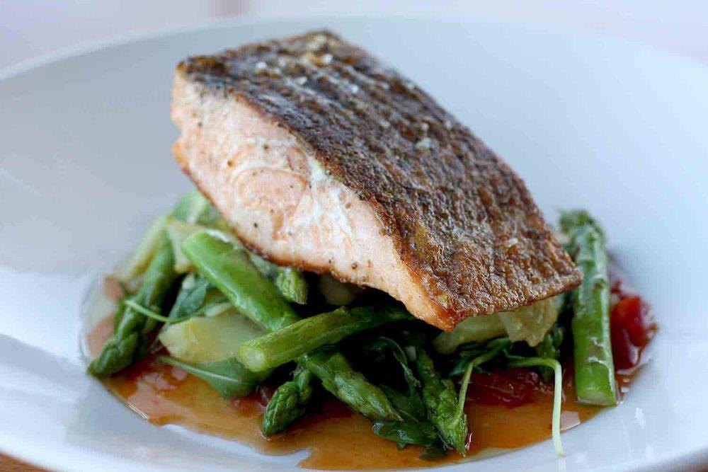 Seafood salmon veges - Generic Stock Photo.jpg