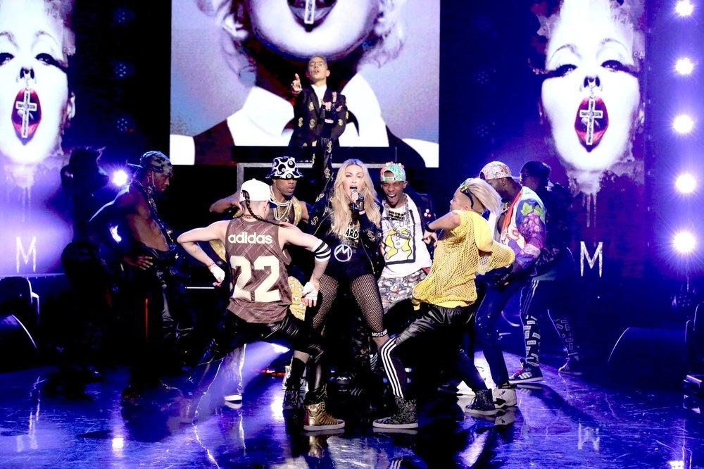 Madonna - Vogue t-shirt for concert performance