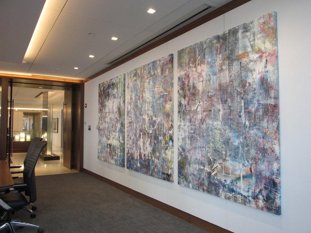 Liam Everett, Harris Boardroom