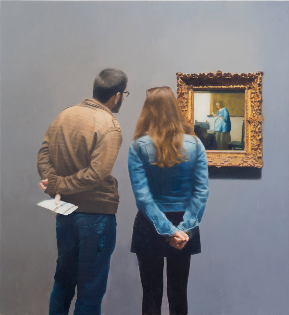 Paul Winstanley, Looking at Vermeer, 2016