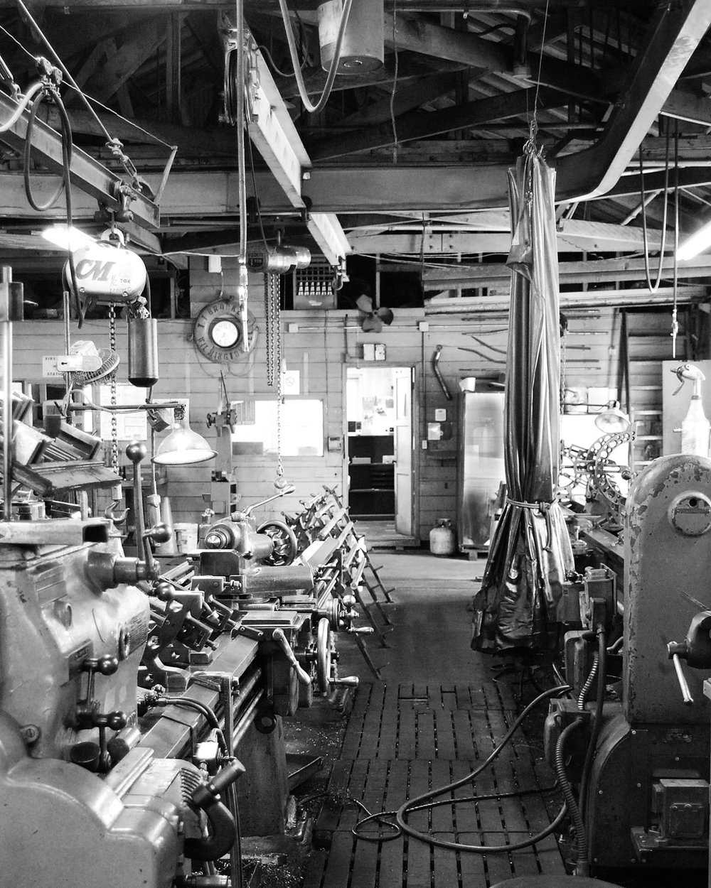 The machine shop at wilmingtonironworks.com