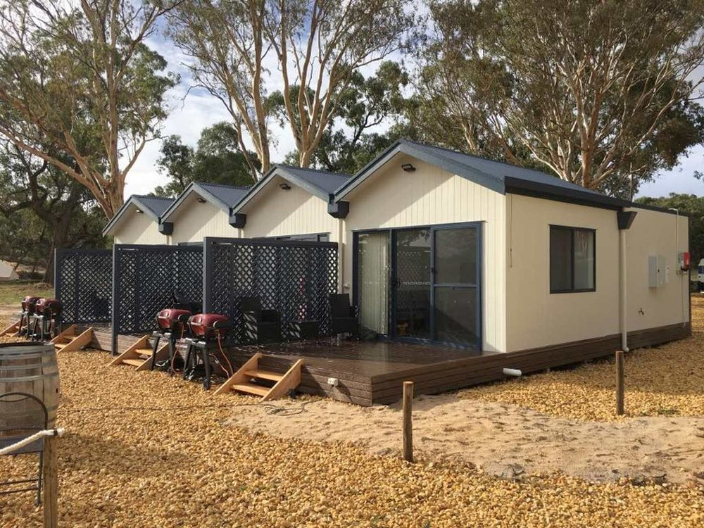 Coonawarra Cabins are brand new to Coonawarra