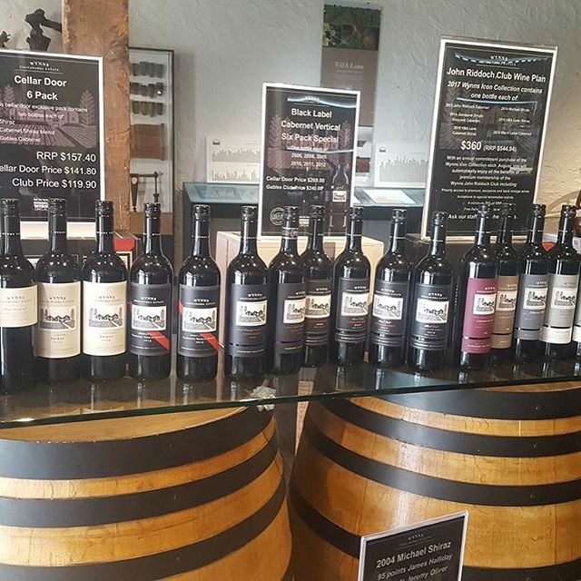 Lots of wonderful specials up for grabs @wynnscoonawarra full day of guests yesterday touring the #coonawarra wine region to showcase our lovely region, get on board with Coonawarra Discovery.  #coonawarradiscovery #winetour #coonawarradiscoverywinetour #Coonawarrawines #Wynns