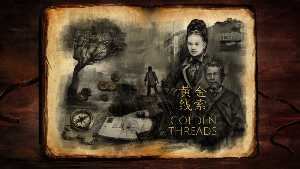 Allan Xia & Renee Liang,  Golden Threads   featured in  Being Chinese in Aotearoa  exhibition at Auckland Museum, 2017