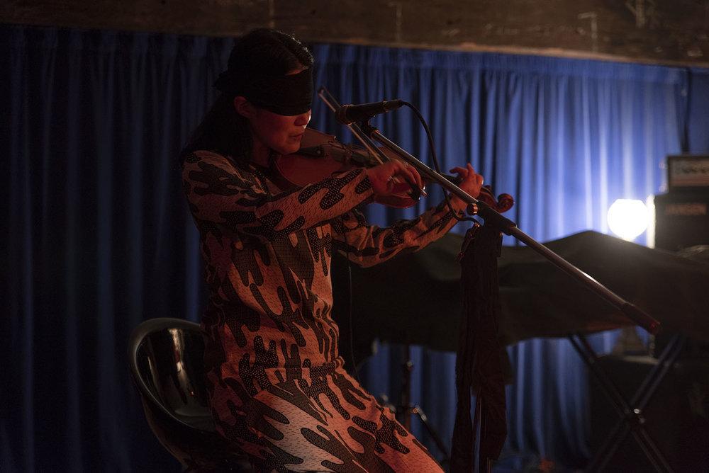 Motoko Kikkawa and Friends - Blind Jam #3 at The Pyramid Club  photo by John Lake