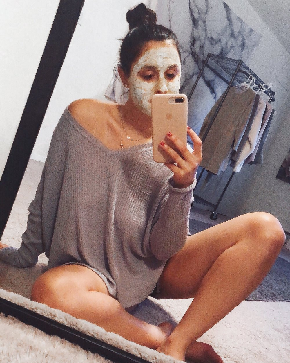 I use different masks - depending on what my skin needs that particular day, but my favorite are exfoliating masks!