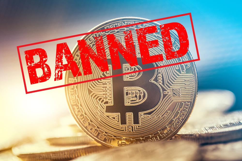 Bitcoin Banned!