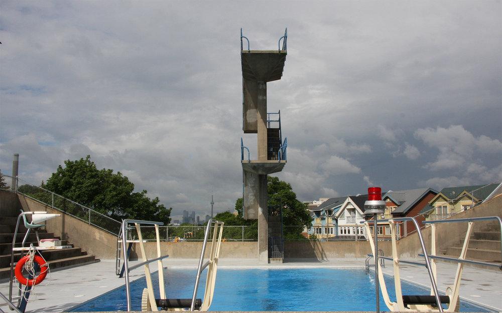 10 Metre Diving Board