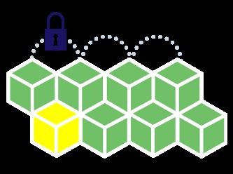 Blockchain Ledger - - decentralised, peer-to-peer network