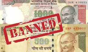 India began demonetising larger denomination notes in November 2016