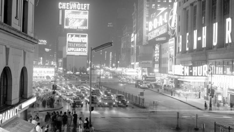 1951, America