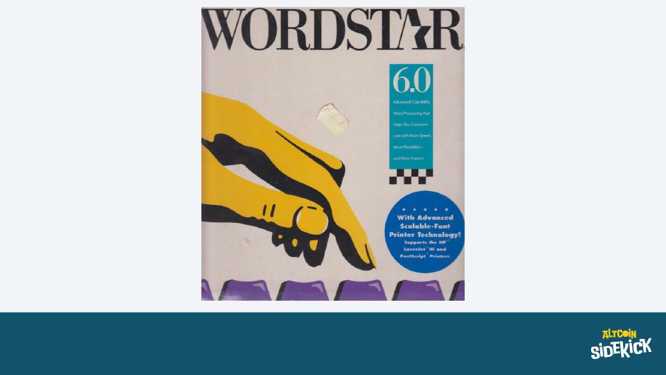 Wordstar 6.0