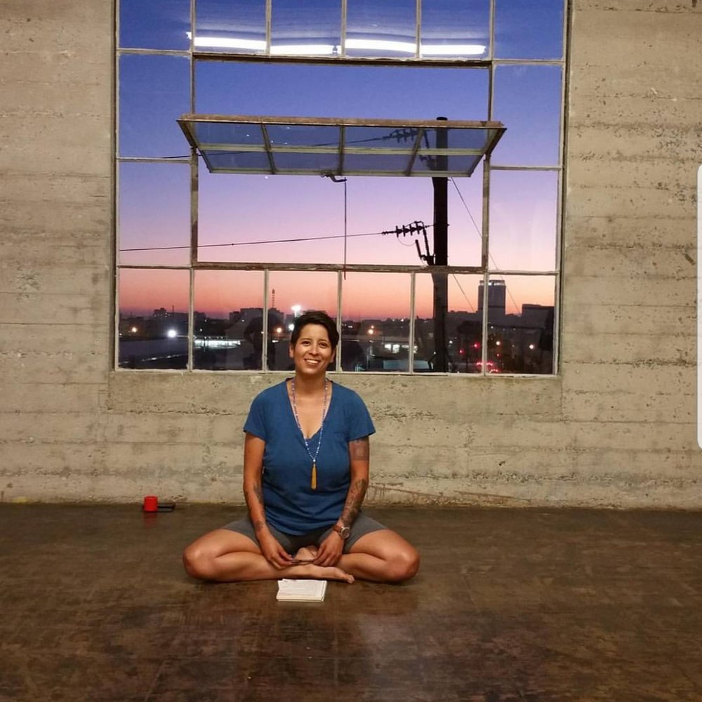 Ivette Lopez - Ivette took her first yoga class June 25th of 2015, on June 26th of 2016 she completed her first 200 hr TT at Urth Yoga with Anusara Certified Advance Teacher Trainer/ERYT 500 Keric Morinaga.Ivette had the intention to teach children, however, her first students ended up being seniors. Immediately she was offered to teach at 3 senior homes, Ivette spent her first year and a half teaching seniors in wheelchairs.On April 1st 2017, the first Shoot The Moon: an elevated yoga workshop, took place in the Arts District of LA. Having had numerous cannabis sponsors, the workshops hadmuch success & continued through the summer of 2018. Passionate about the history behind yoga and cannabis, Ivette attended the first Ganjasa 100hr CEU in Colorado with Rachael Carlevale October 2017.Yoga is the journey of the Self through the Self to the Self.- The Bhagavad Gita