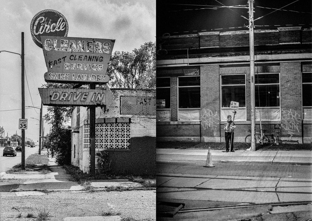 Circle, Detroit, 2018 & The sacrifice, Toronto, 2018